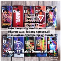 Softcase man case bluray Oppo F9 A3s F7 F5 superheroes iron mobil