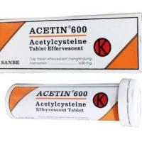 Acetin Effervescent