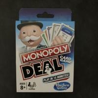 Deal Card Game Monopoly Deal Hasbro / Monopoli