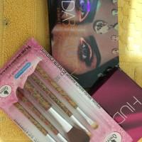 Huda dessert dusk eyeshadow palette free brush
