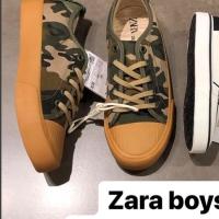 Zara kids shoes army