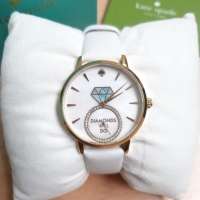 Kate Spade new with tag strap white leather
