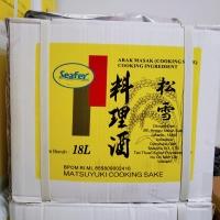 Matsuyuki arak masak cooking sake 18 L