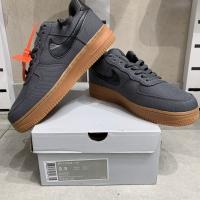 Nike Air Force 1 Low 07 Lv8 Grey Gum BNIB PERFECT PAIRS