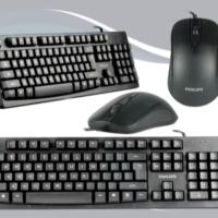 Philips C214 C 214 Keyboard Mouse Combo