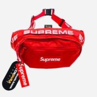 Supreme waist bag ( ss18 ) RED