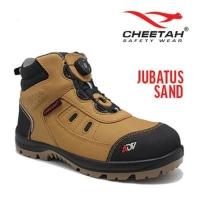 Sepatu safety merk cheetah type jubatus