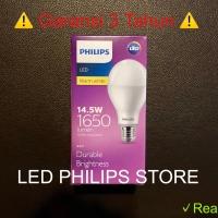 Lampu Bohlam LED Philips 14 Watt Kuning/Warm White (14W 14 W 14Watt)
