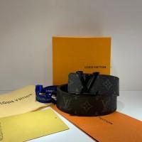 Louis Vuitton Signature Leather Black Belt