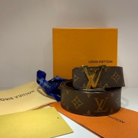 Louis Vuitton Signature Leather Brown Belt