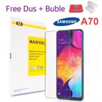 MAXFEEL Tempered Glass Samsung A70 Premium Clear Glass