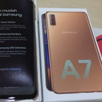 Hp Samsung Galaxy A7 2018 gold SALE