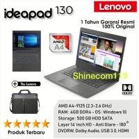 Laptop Lenovo i 130 amd a4 / 4Gb / 500gb /dvd/14inch/win10