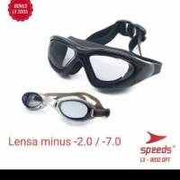 Kacamata Renang MINUS Min Swimming Googles Dewasa Remaja Anti Uv Embun