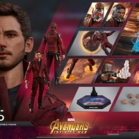 DP PO Hot Toys Star Lord Infinity War Hottoys Starlord IW