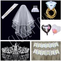 paket bridal shower selempang mahkota bride to be