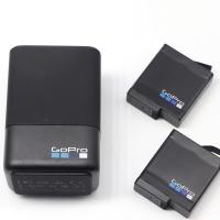 Dual Battery Charger + Extra Battery GoPro HERO 7/ 6/ 5- baterai HERO7