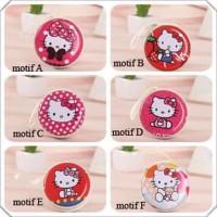Dompet koin headset Mini Coin Bag dompet handsfree Hello Kitty