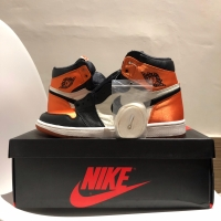Air Jordan 1 Retro High OG SBB SATIN US9.5 W