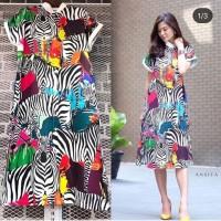 Zebra Printed Dress Premium BKK