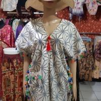 Blouse/Mini Dress Etnik Tassel BKK