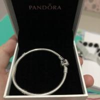 Pandora Charm Bracelet 590702HV Sterling silver NEW