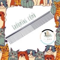 Grooming Comb - Sisir Anjing Kucing Hewan Pet Cat Dog Brush