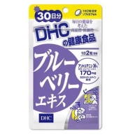 DHC Blueberry Blue Berry Extract For 30 Days Suplemen Kesehatan Mata