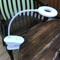 Lampu Belajar Emergency LED Bulat model jepit merk Surya