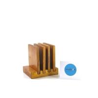 Wooden coaster set Tatakan gelas set Alas Gelas