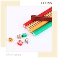 fimo clay nail art grosir 100pcs fimo stick case hp nails fimo batang