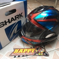 SALE 2nd 99% Mulus Helm modular shark evoline3 Tixer Red Blue L France