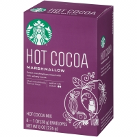 Starbucks Hot Cocoa Marshmallow Drink Hot Cacao Coklat Susu Cokelat
