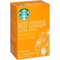 Starbucks Hot Cocoa Salted Caramel Drink Chocolate Milk Cacao Coklat