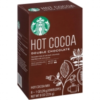 Starbucks Hot Cocoa Double Chocolate Milk Cacao Coklat Cokelat Dark
