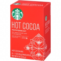 Starbucks Hot Cocoa Peppermint Drink Chocolate Milk Cacao Coklat Mint