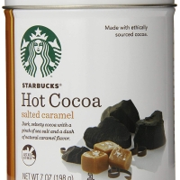 Starbucks Hot Cocoa Salted Caramel Chocolate Milk Cacao Coklat Cokelat