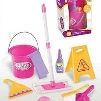 LITTLE HELPER 667E Mainan Anak Perempuan Bersih-Bersih Sapu Pel