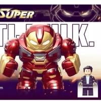 Figure Avengers Hulkbuster Bruce Banner Lego Bricks