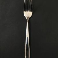 Garpu teh fork dessert kue isi 6 stainless steel tebal kecil makan