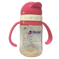 Richell PPSU Straw Bottle 200 ml