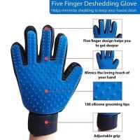 True touch pet glove sarung tangan grooming bulu anjing kucing