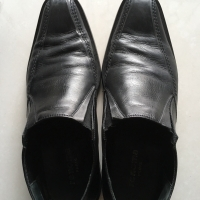 Sepatu fantovel cowo merk Renoma preloved size 44
