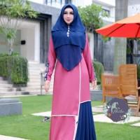 ALETHA Hafeeza Syari Set Dress BajuMuslimSelebgram
