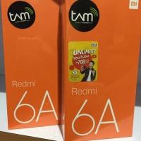 Xiaomi Redmi 6A Ram 2/16 GB Garansi Resmi Tam