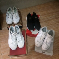 Nike Air Force 1, Vans SK8 High, Reebok Club C 85, Nike Air Presto
