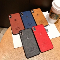 Apple Leather Logo Case Iphone 6 6S 6+ 6S+ 7 7+ 8 8+ X XR XS MAX