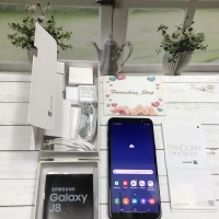 Samsung Galaxy J8 3/32 Black Second Garansi Panjang