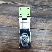 """Overpal Gembok putar ukuran 4"""" stainless steel merk Soligen"""