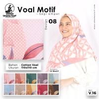 Jilbab Umama Voal Motif